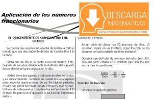 DESCARGAR APLICACIÓN DE LAS FRACCIONES – PRIMERO DE SECUNDARIA