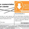 DESCARGAR APLICACIONES COMERCIALES DEL TANTO POR CIENTO – CUARTO DE SECUNDARIA