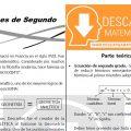 DESCARGAR ECUACIONES DE SEGUNDO GRADO – ÁLGEBRA SEGUNDO DE SECUNDARIA