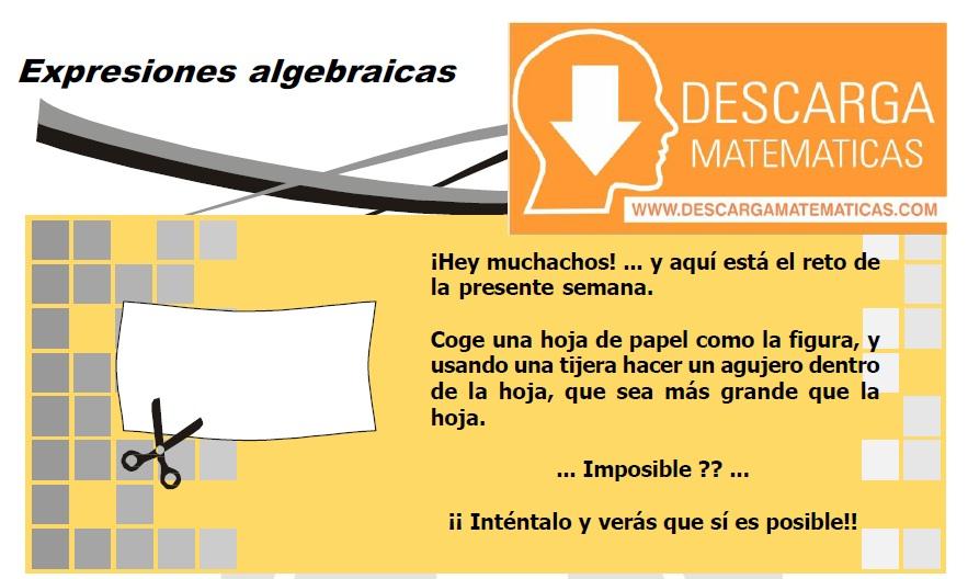 DESCARGAR EXPRESIONES ALGEBRAICAS - ÁLGEBRA SEGUNDO DE SECUNDARIA