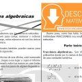 DESCARGAR FRACCIONES ALGEBRAICAS – ÁLGEBRA SEGUNDO DE SECUNDARIA