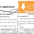 DESCARGAR FRACCIONES ALGEBRAICAS – ALGEBRA TERCERO DE SECUNDARIA