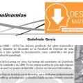 DESCARGAR GRADOS DE UN POLINOMIOS – ALGEBRA TERCERO DE SECUNDARIA
