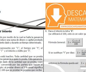 DESCARGAR INTERES – QUINTO DE SECUNDARIA