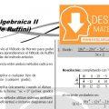DESCARGAR METODO DE RUFFINI – ÁLGEBRA SEGUNDO DE SECUNDARIA