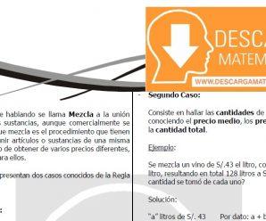 DESCARGAR MEZCLAS – CUARTO DE SECUNDARIA
