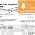 DESCARGAR OPERACIONES CON FRACCIONES – PRIMERO DE SECUNDARIA