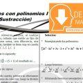 DESCARGAR OPERACIONES CON POLINOMIOS – ÁLGEBRA SEGUNDO DE SECUNDARIA