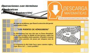 DESCARGAR OPERACIONES CON TERMINOS ALGEBRAICOS - ÁLGEBRA SEGUNDO DE SECUNDARIA