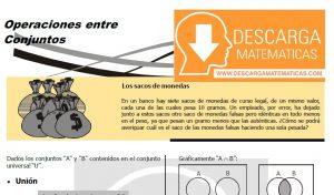DESCARGAR OPERACIONES ENTRE CONJUNTOS- QUINTO DE SECUNDARIA