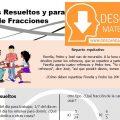 DESCARGAR PROBLEMAS PARA RESOLVER DE FRACCIONES – SEGUNDO DE SECUNDARIA