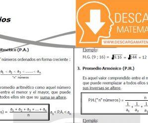 DESCARGAR PROMEDIOS – QUINTO DE SECUNDARIA