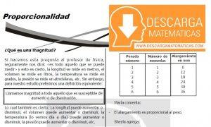 DESCARGAR PROPORCIONALIDAD - QUINTO DE SECUNDARIA