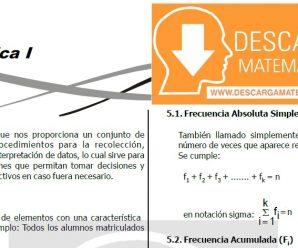 DESCARGAR ESTADISTICA PARA ESTUDIANTES DE SEGUNDO DE SECUNDARIA