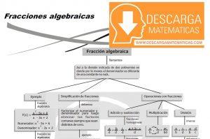 FRACCIONES ALGEBRAICAS – ALGEBRA CUARTO DE SECUNDARIA