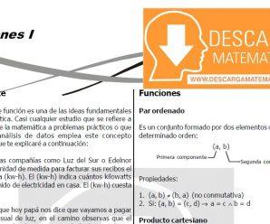FUNCIONES – ALGEBRA CUARTO DE SECUNDARIA