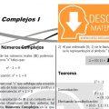 NÚMEROS COMPLEJOS – ALGEBRA CUARTO DE SECUNDARIA