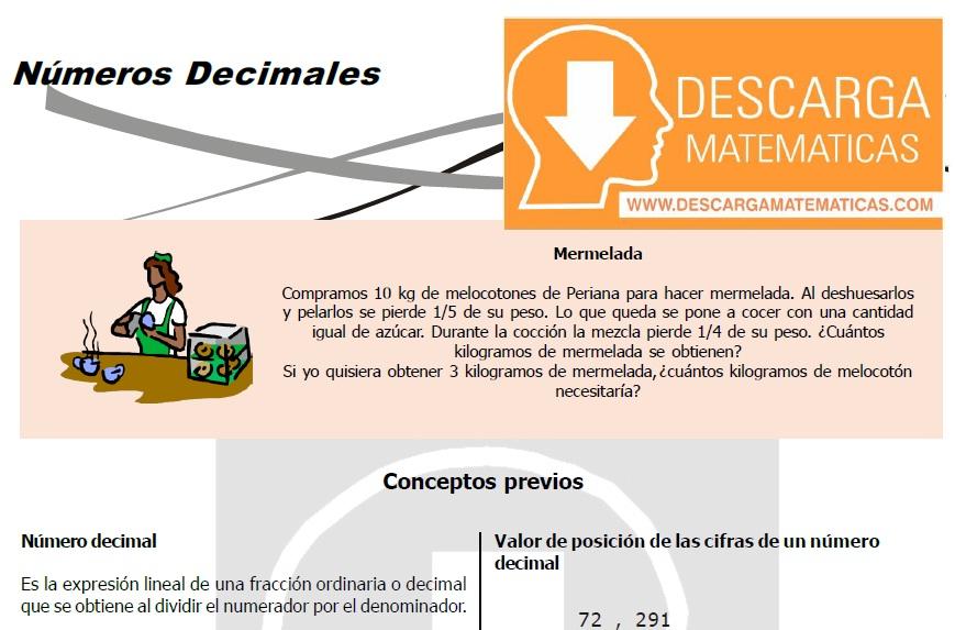 PROBLEMAS PARA RESOLVER DE NÚMEROS DECIMALES – SEGUNDO DE SECUNDARIA ...