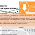 SERIE DE RAZONES GEOMETRICAS EQUIVALENTES PARA ESTUDIANTES DE CUARTO DE SECUNDARIA