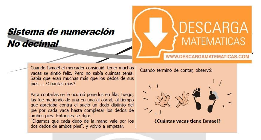 SISTEMA DE NUMERACIÓN NO DECIMAL PARA ESTUDIANTES DE TERCERO DE SECUNDARIA