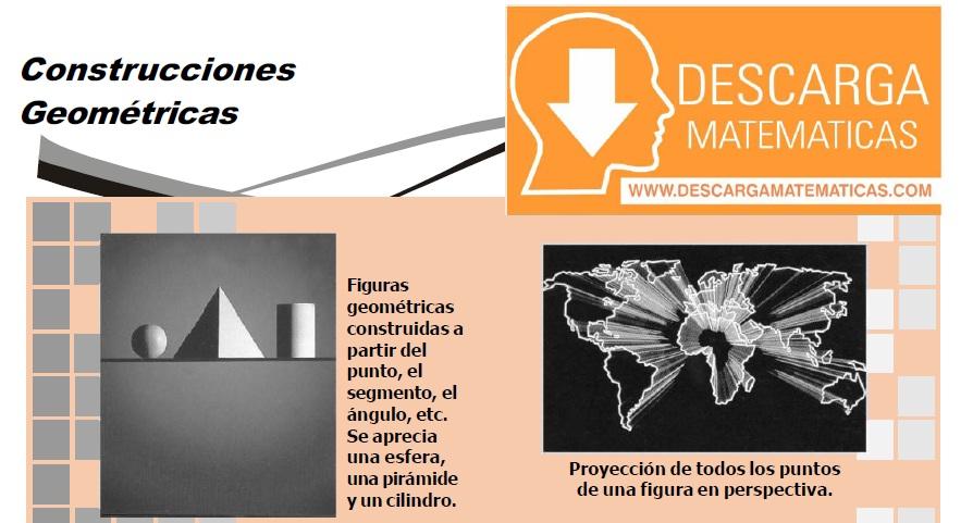 DESCARGAR CONSTRUCCIONES GEOMÉTRICAS PRIMERO DE SECUNDARIA