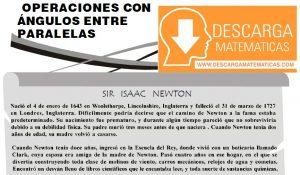 DESCARGAR OPERACIONES CON ANGULOS ENTRE RECTAS PARALELAS - PRIMERO DE SECUNDARIA