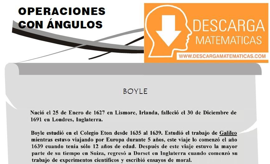 DESCARGAR OPERACIONES CON ANGULOS - PRIMERO DE SECUNDARIA