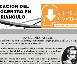 UBICACIÓN DEL ORTOCENTRO EN EL TRIÁNGULO – PRIMERO DE SECUNDARIA