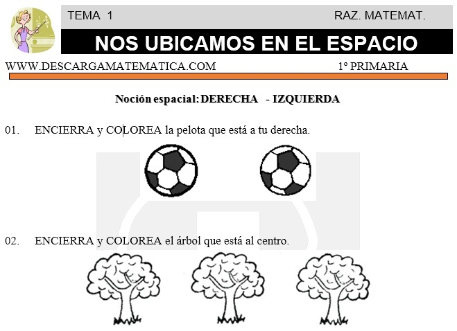 01 NOS UBICAMOS EN EL ESPACIO - SEGUNDO DE PRIMARIA