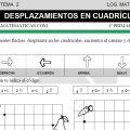 DESCARGAR DESPLAZAMIENTOS EN CUADRICULAS- MATEMATICA PRIMERO DE PRIMARIA