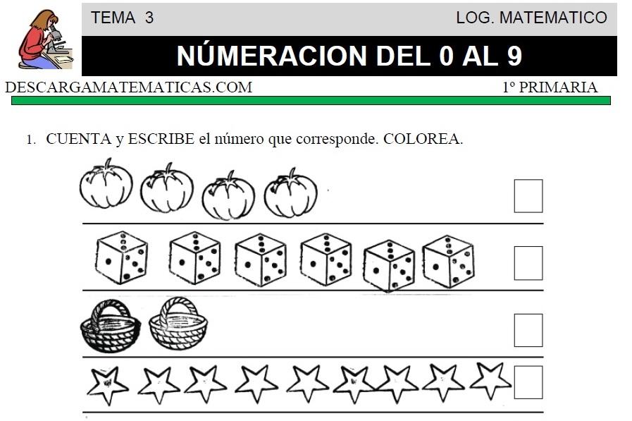 03 NÚMEROS DEL 0 AL 9