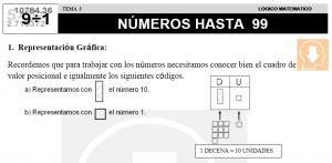 03 NÚMEROS HASTA 99 - SEGUNDO DE PRIMARIA