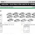 DESCARGAR ADICION Y SUSTRACCION HASTA EL NUMERO 19 – MATEMATICA PRIMERO DE PRIMARIA