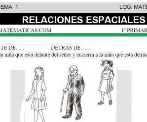 DESCARGAR RELACIONES ESPACIALES – MATEMATICA PRIMERO DE PRIMARIA