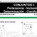 DESCARGAR CONJUNTOS I – MATEMATICA SEXTO DE PRIMARIA