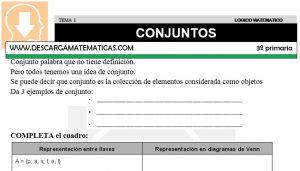 01 CONJUNTOS - TERCERO DE PRIMARIA