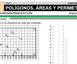 DESCARGAR POLIGONOS, AREAS Y PERIMETROS – MATEMATICA CUARTO DE PRIMARIA