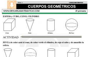 04 CUERPOS GEOMÉTRICOS - TERCERO DE PRIMARIA