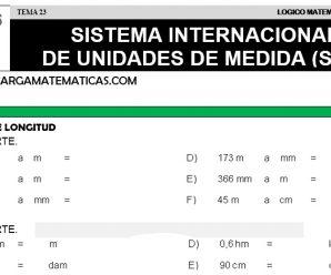 DESCARGAR SISTEMA INTERNACIONAL DE UNIDADES DE MEDIDA – MATEMATICA QUINTO DE PRIMARIA