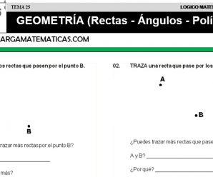DESCARGAR GEOMETRIA – MATEMATICA QUINTO DE PRIMARIA