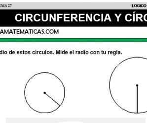 DESCARGAR CIRCUNFERENCIA Y CÍRCULO – MATEMATICA QUINTO DE PRIMARIA
