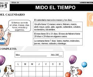 DESCARGAR MIDO EL TIEMPO – MATEMATICA SEGUNDO DE PRIMARIA