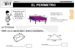 31 EL PERÍMETRO - SEGUNDO DE PRIMARIA