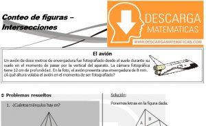 02 Conteo de figuras - Intersecciones - Geometria Tercero de Secundaria