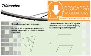 03 Triángulos Geometría Segundo de Secundaria