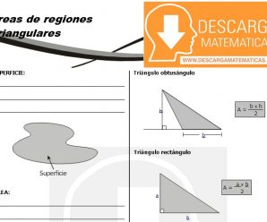 DESCARGAR AREAS DE REGIONES TRIANGULARES – GEOMETRIA SEGUNDO DE SECUNDARIA