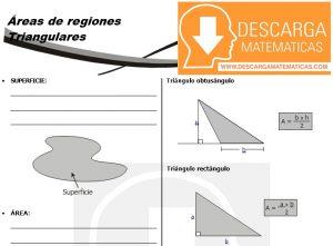 11 Áreas de regiones triangulares Geometria Segundo de Secundaria