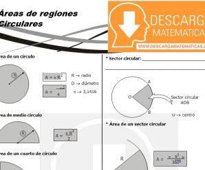 DESCARGAR AREAS DE REGIONES CIRCULARES – GEOMETRIA SEGUNDO DE SECUNDARIA