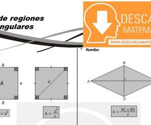 DESCARGAR AREAS DE REGIONES CUADRANGULARES – GEOMETRIA SEGUNDO DE SECUNDARIA