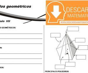 DESCARGAR SOLIDOS GEOMETRICOS – GEOMETRIA SEGUNDO DE SECUNDARIA